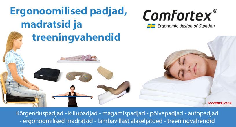 Comfortex seljapadjad